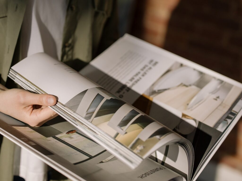 Print Magazin Werbung
